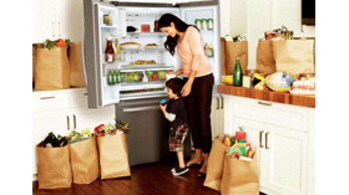 22 Cu Ft French Door Refrigerator Refrigerators Rf220nctaspaa