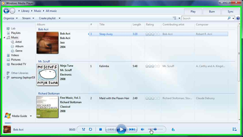 Why is windows 7 media player so ugly? | nicholasoverstreet. Com.