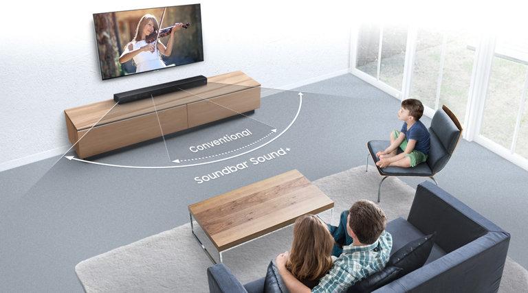 Sound+ Premium Soundbar Home Theater - HW-MS650/ZA | Samsung US