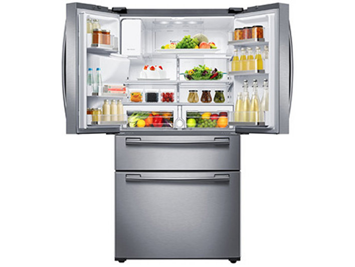 25 cu ft 4 door french door refrigerator refrigerators 25 cu ft capacity publicscrutiny Images