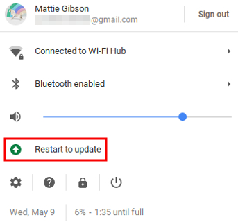 Chromebook OS Update