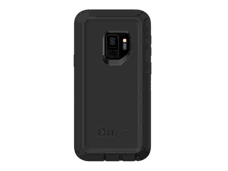 OtterBox Defender for Galaxy S9, Black