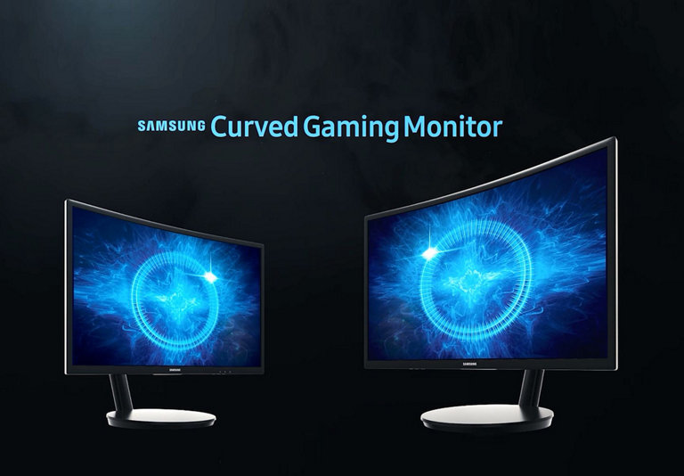Samsung Curved Gaming Monitor 27inch 144Hz - Gaming PC