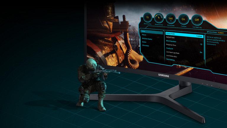 Gamer-friendly menu