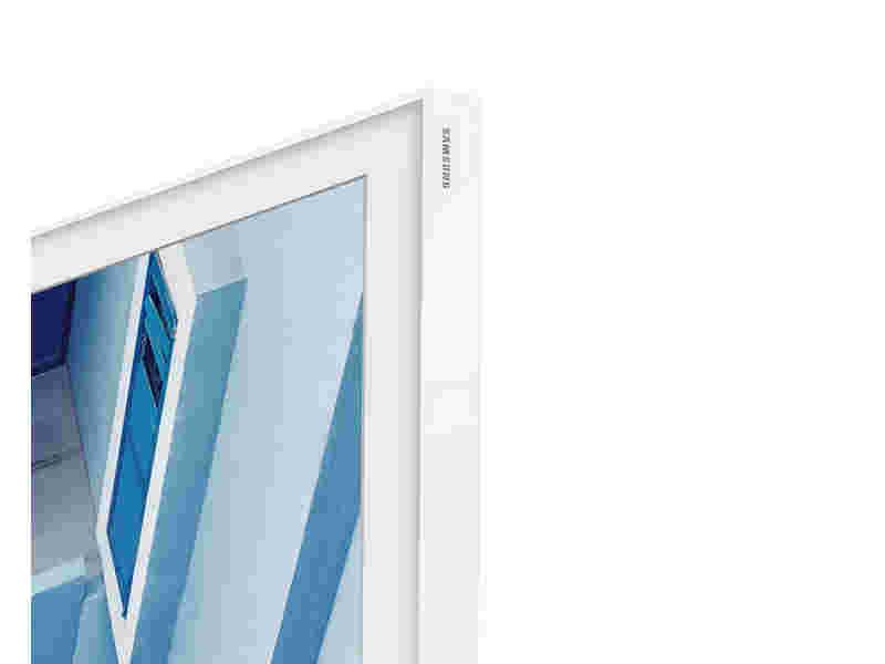 """55"""" The Frame Customizable Bezel - White"""