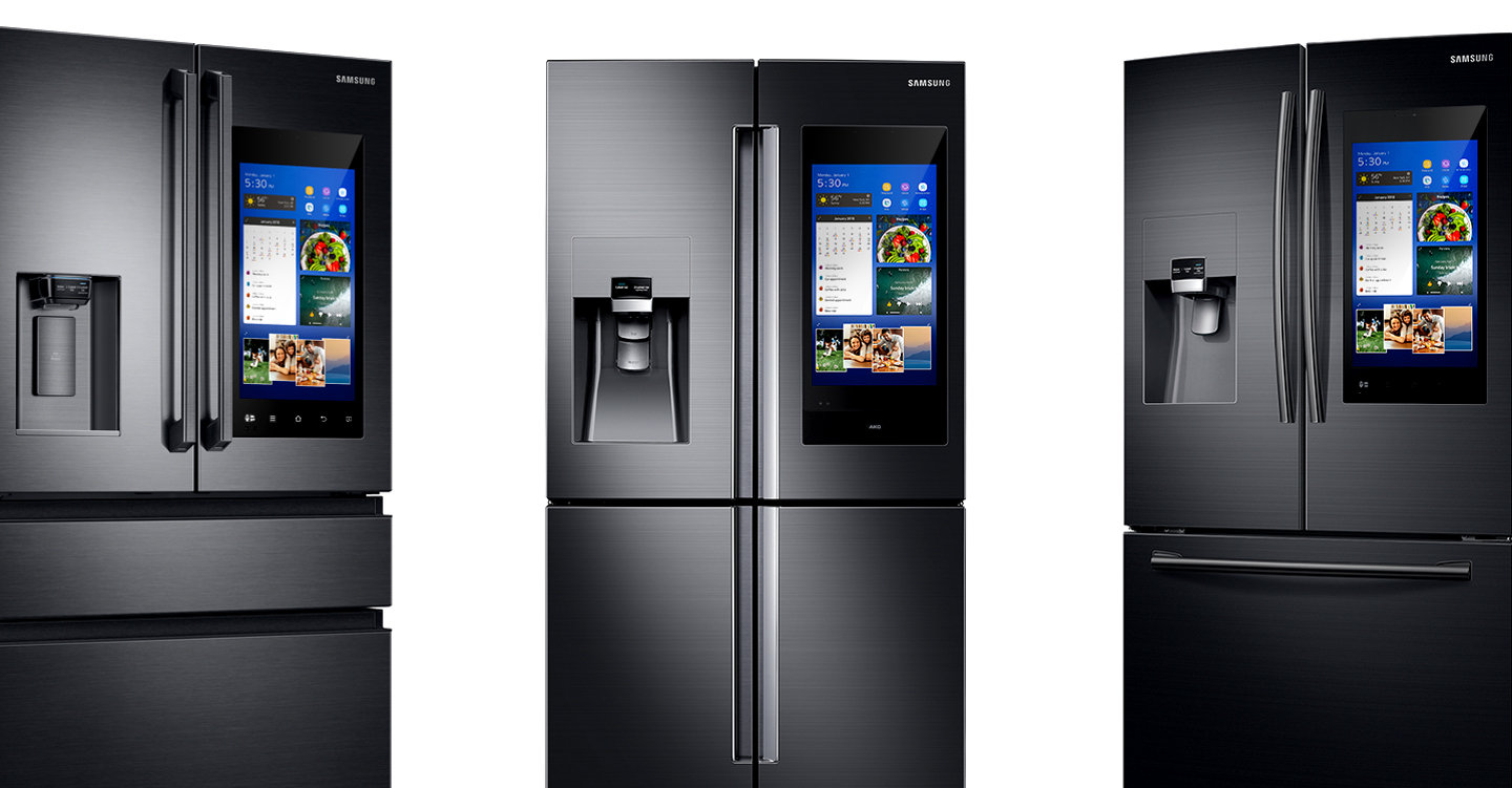 The Samsung Family Hub Smart Fridge is Samsung's