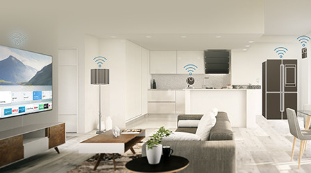 Smart Home  with IoT devices