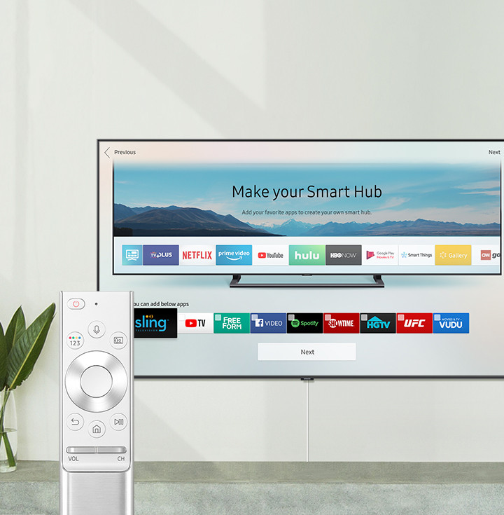 how to add foxtel go to samsung smart tv