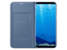 Thumbnail image of Galaxy S8+ LED Wallet Cover, Blue