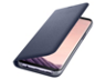 Thumbnail image of Galaxy S8+ LED Wallet Cover, Orchid Gray