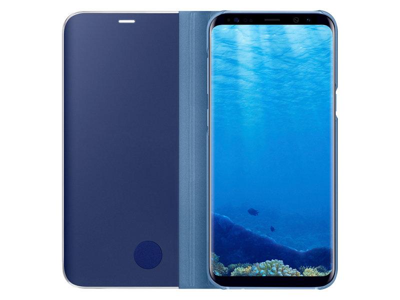 custodia samsung s8 coral blu