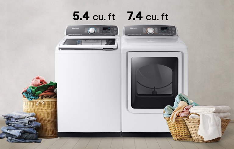 Wa8750 54 Cu Ft Activewash Top Load Washer With Integrated Touch