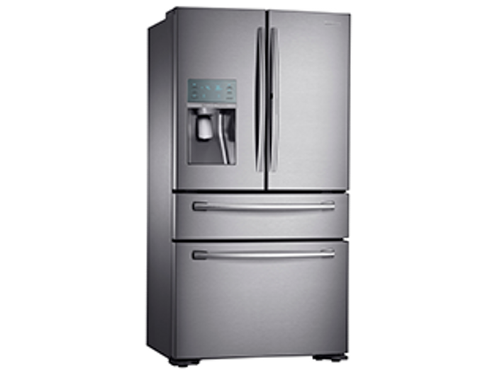 22 cu. ft. Counter Depth 4-Door French Door Food Showcase ...