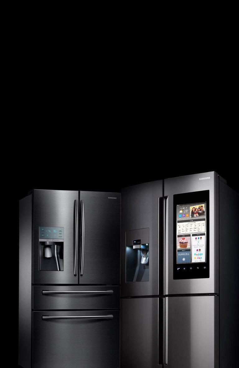 samsung tv refrigerator. samsung black stainless steel tv refrigerator n