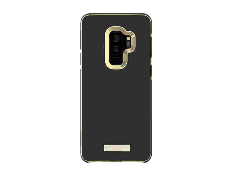 Kate Spade Wrap Inlay Case for Galaxy S9+, Black