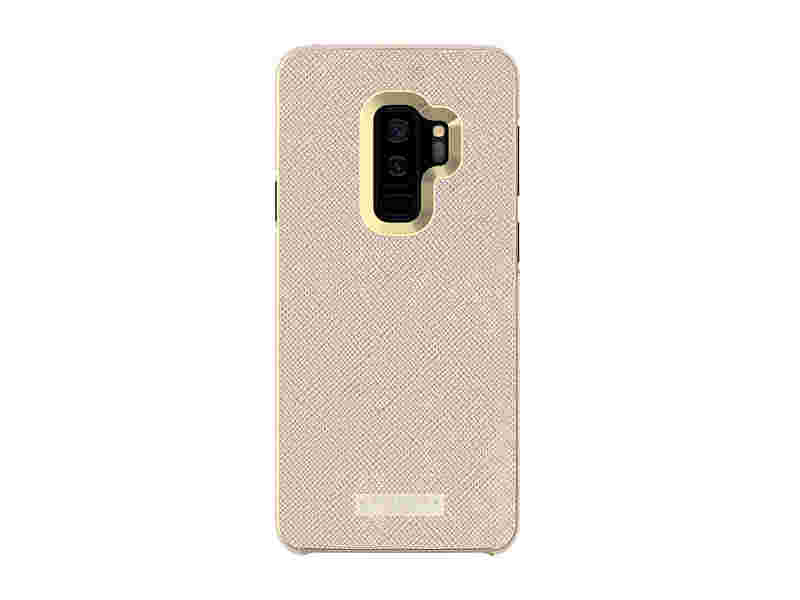 Kate Spade Wrap Inlay Case for Galaxy S9+, Rose Gold