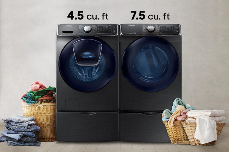 Wf6500 45 Cu Ft Addwash Front Load Washer Washers Wf45k6500av