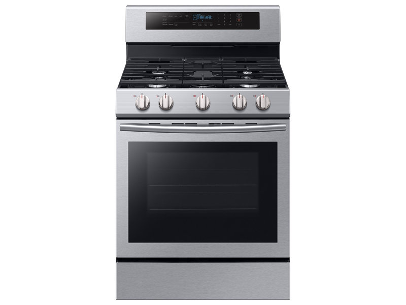 gas range with true convection