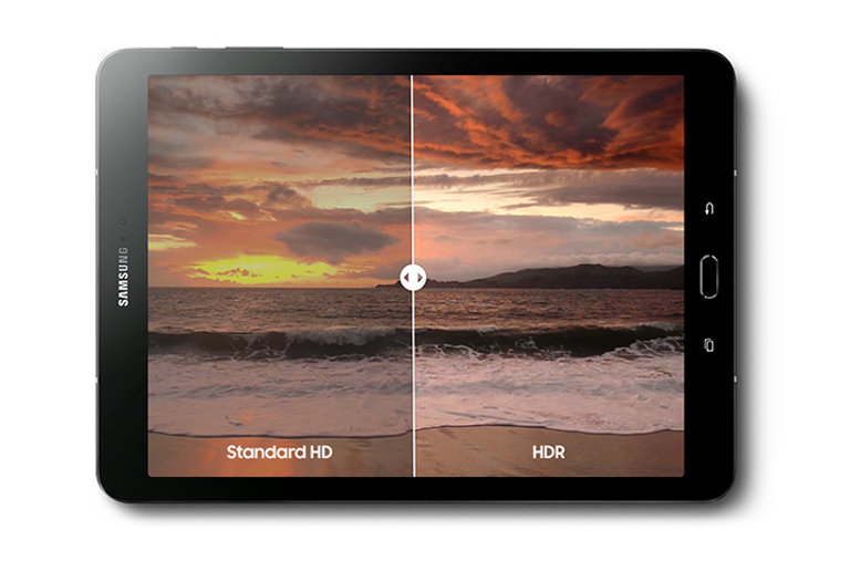 HDR-ready Super AMOLED display