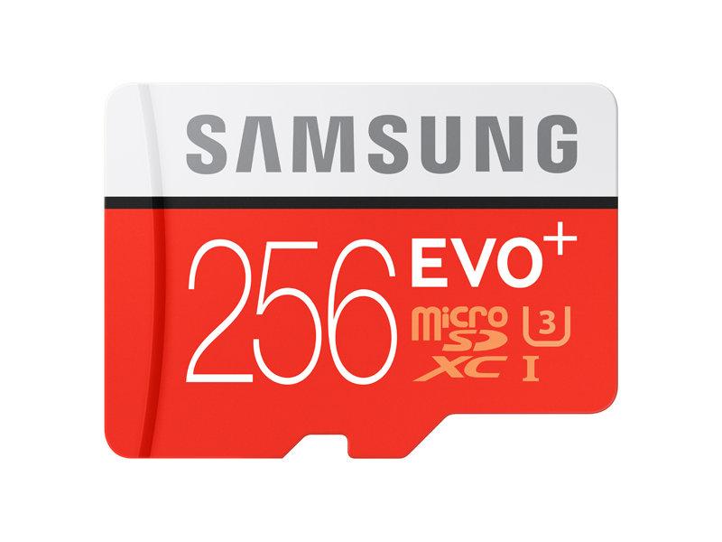 Original Samsung EVO Plus UHS-3 256GB Micro SDXC Memory Card