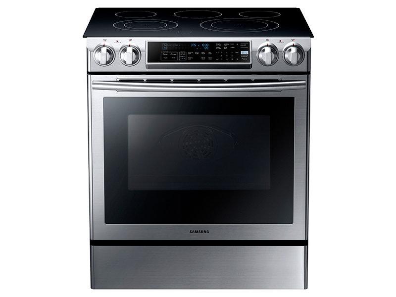 samsung electric stove. slide-in electric range samsung stove