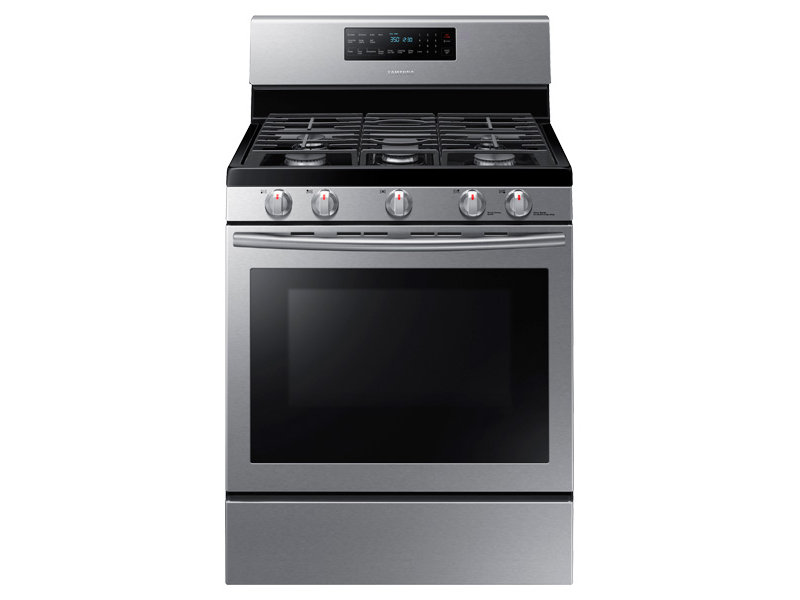 5 8 Cu Ft Gas Range With Convection Ranges Nx58h5600ss