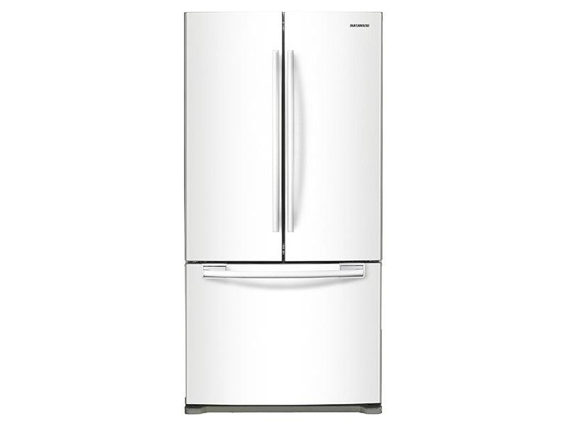 French Door Refrigerator  sc 1 st  Samsung & 20 cu. ft. French Door Refrigerator Refrigerators - RF20HFENBWW/US ... pezcame.com
