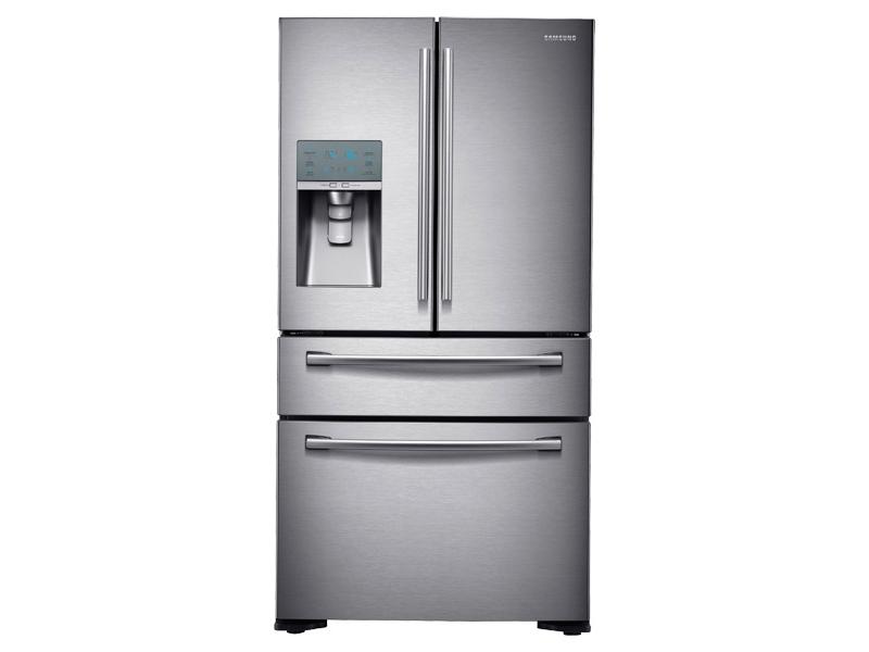 23 Cu Ft Counter Depth 4 Door Refrigerator With Flexzone