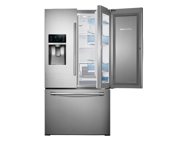 28 cu. ft. 3-Door French Door Food ShowCase Refrigerator ... | {Kühlschränke samsung 56}