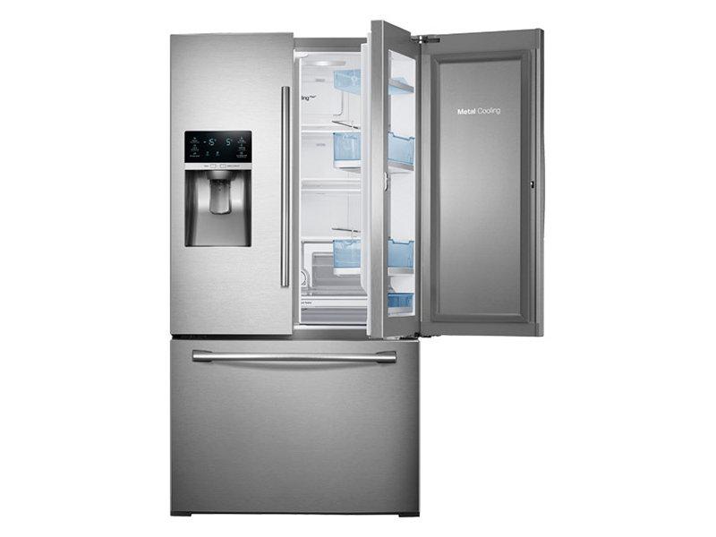 3-Door French Door Food ShowCase Refrigerator