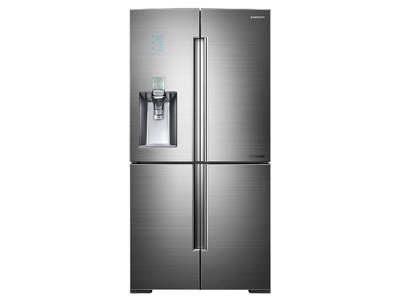 34 Cu Ft 4 Door Flex Chef Collection Refrigerator With Sparkling