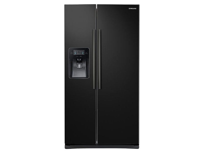 white refrigerator png. sidebyside refrigerator with led lighting white png