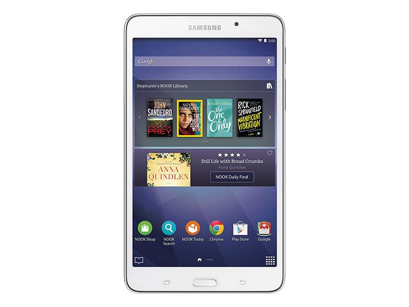 Galaxy Tab 4 Nook 70 8gb Wi Fi Tablets Sm T230nzwubnn Samsung Us