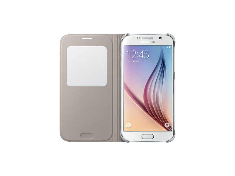 samsung galaxy s6 gold. galaxy s6 sview flip cover samsung gold