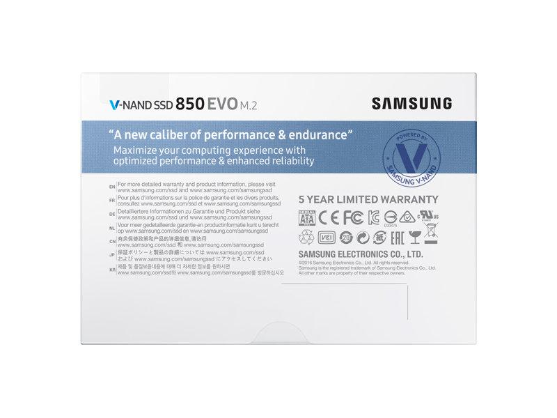 Samsung 850 EVO 250GB SATA M.2 2280 SSD | MZ-N5E250BW