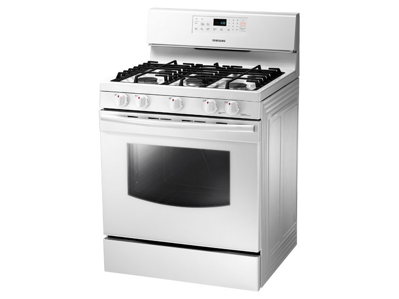 stove white. 5.8 cu. ft. gas range stove white o