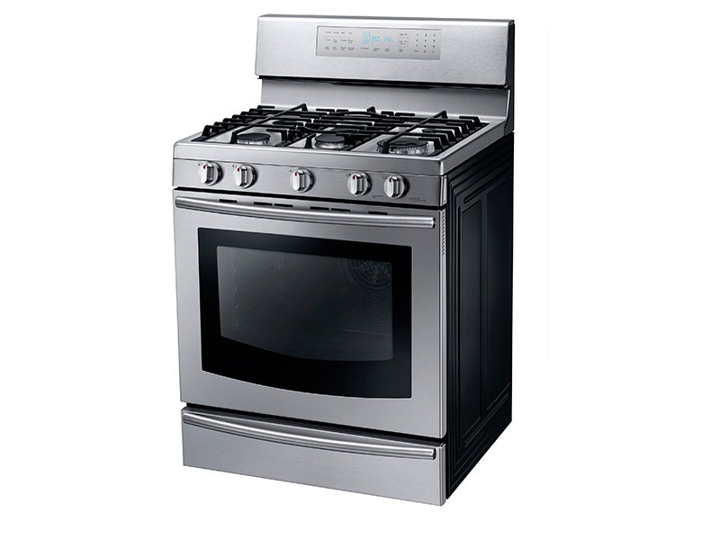 Gas Range Oven Part - 42: Gas Range With True Convection