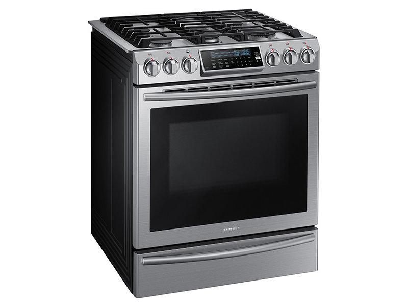 Gas Range Oven Part - 21: Slide-In Gas Range With True Convection