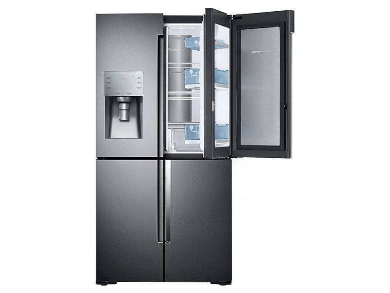 Counter Depth 4-Door Flex™ Food Showcase Refrigerator with  sc 1 st  Samsung & 22 cu. ft. Counter Depth 4-Door Flex™ Food Showcase Refrigerator ... pezcame.com