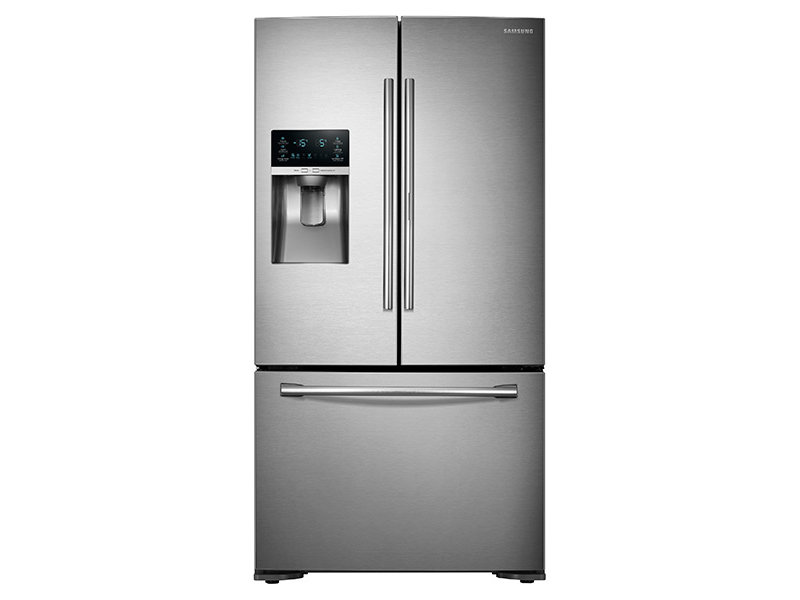 samsung fridge freezer. 23 cu. ft. counter depth 3-door food showcase refrigerator samsung fridge freezer i