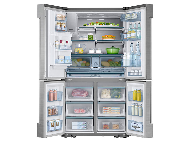 Exceptional Counter Depth 4 Door Flex™ Chef Collection Refrigerator