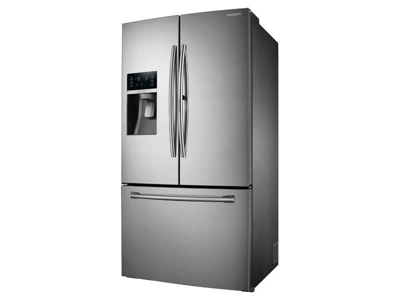 samsung refrigerator french door. 3-door french door food showcase refrigerator with dual ice samsung i