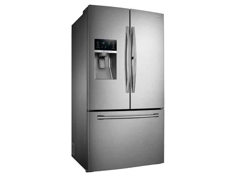 samsung refrigerator french door ice maker. 3-door french door food showcase refrigerator with dual ice samsung maker r
