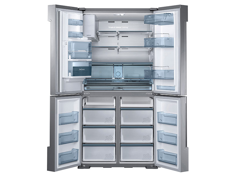 samsung refrigerator 4 door. 4-door flex™ chef collection refrigerator, with sparkling samsung refrigerator 4 door s