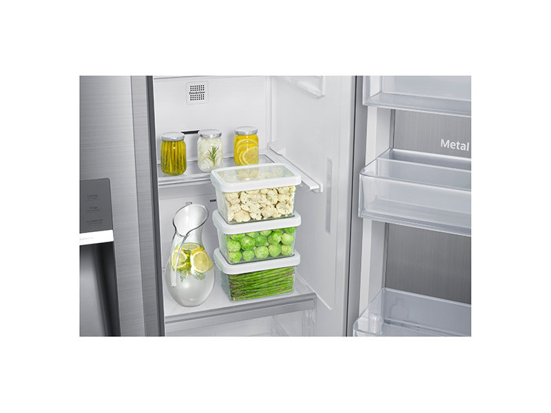 Counter Depth Side By Side Food ShowCase Refrigerator With