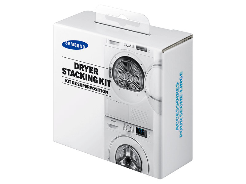 samsung washing machine. sk-dh - stacking kit for samsung 24 in. wide front load laundry pairs washing machine p