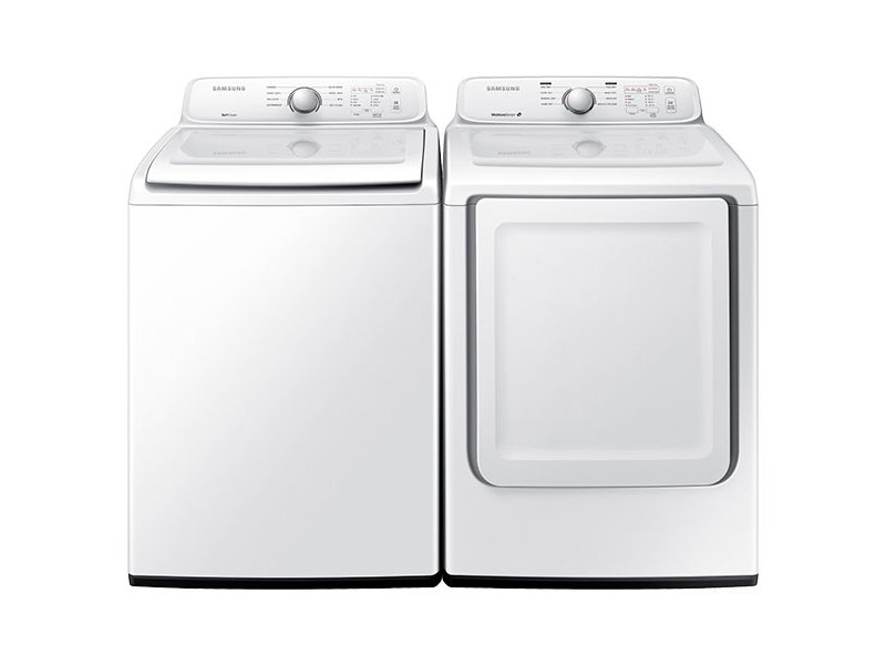 top load washer with self clean