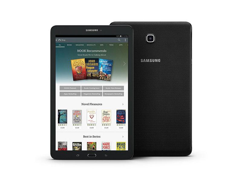 galaxy tab e nook 9 6 16gb wi fi tablets sm t560nzkubnn rh samsung com nook tablet manual free download samsung nook tablet manual