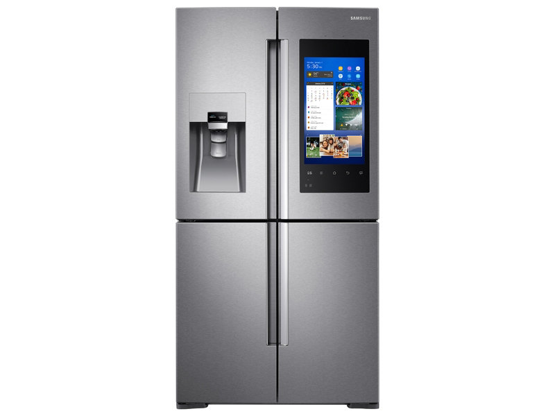Capacity Counter Depth 4-Door Flex™ Refrigerator with Family  sc 1 st  Samsung : refridgerator door - pezcame.com