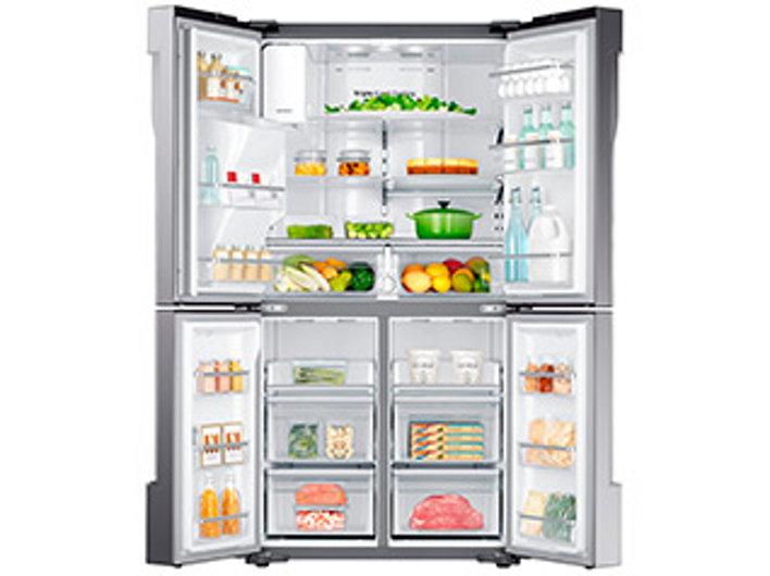 Samsung 4 door refrigerator rf23j9011sr samsung us 23 cu ft large capacity publicscrutiny Images